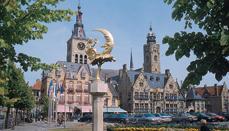 Szlaki dla barek turystycznych w Belgii