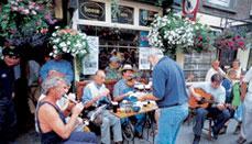 zlaki dla barek turystycznych wIrlandii