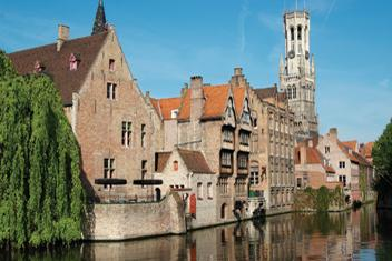Wakacje na hausbocie w Belgii