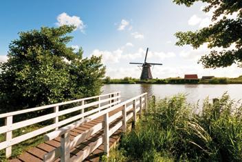 Wakacje na hausbocie w Holandii