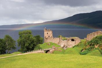 Urlop na hausbocie w Szkocji